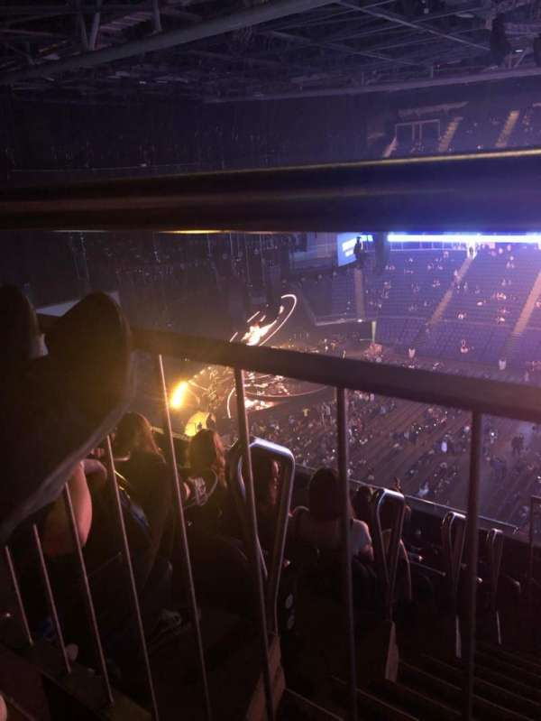 The O2 Arena, section: 404, row: H, seat: 537