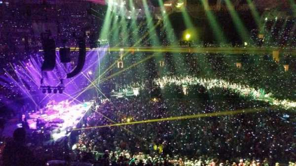 Madison Square Garden, section: 210, row: 12, seat: 3