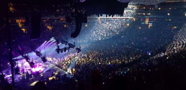 Madison Square Garden, section: 221, row: 6, seat: 4