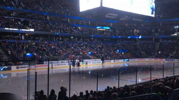 Amalie Arena, section: 120, row: N, seat: 6