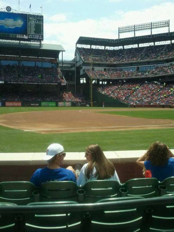 Globe Life Park in Arlington, section: 17, row: 2, seat: 4