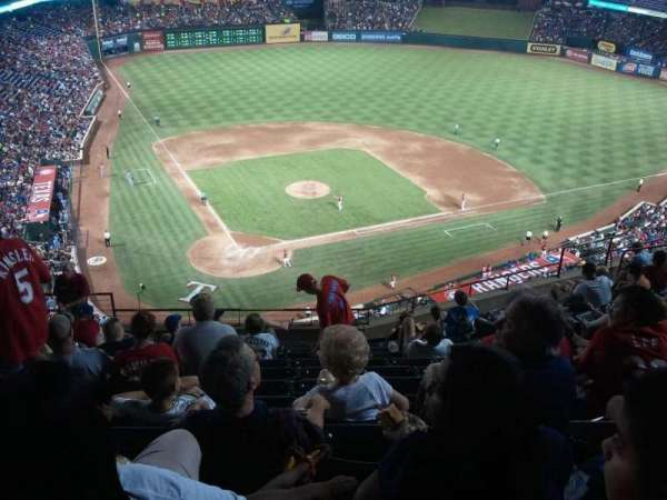 Globe Life Park in Arlington, section: 329, row: 12, seat: 5