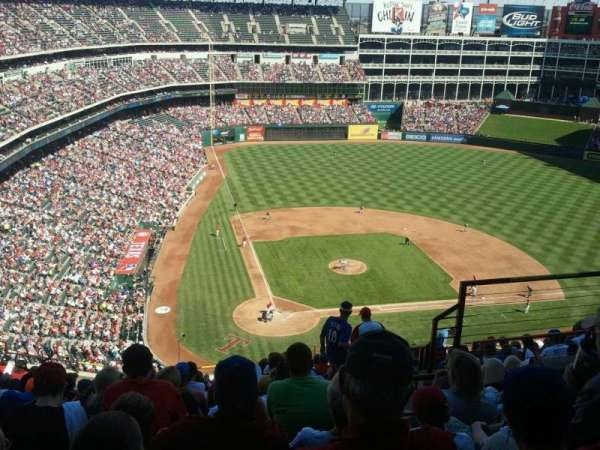 Globe Life Park in Arlington, section: 330, row: 15, seat: 4