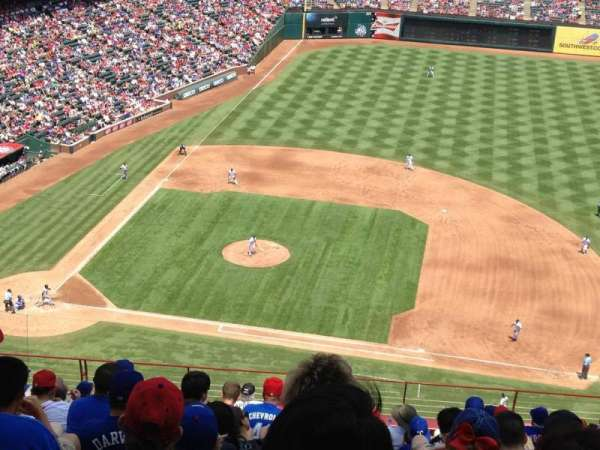 Globe Life Park in Arlington, section: 333, row: 15, seat: 9