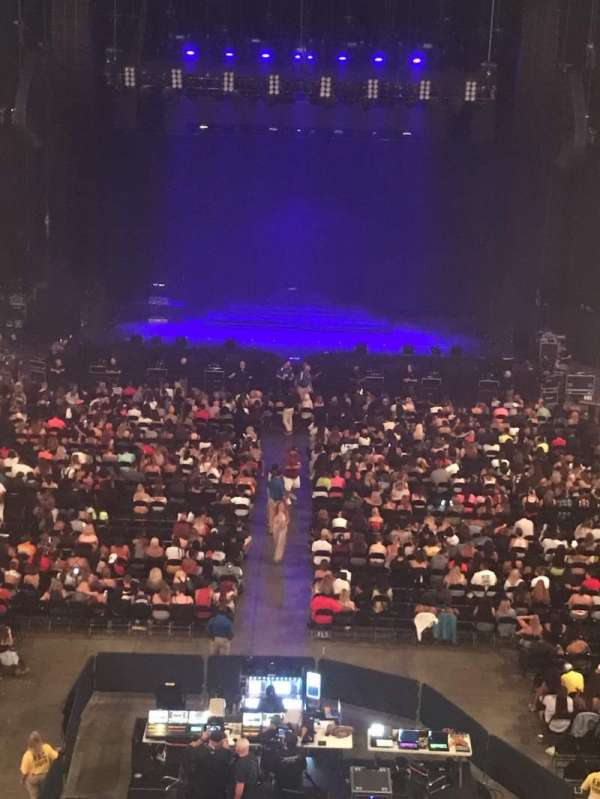 John Paul Jones Arena, section: 308, row: ADA, seat: 5