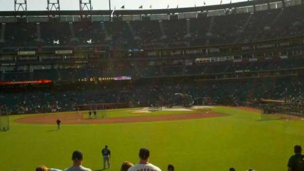 AT&T Park, section: 138, row: 18, seat: 1