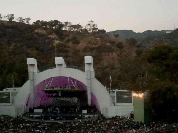 Hollywood Bowl, section: M3, row: 21, seat: 18