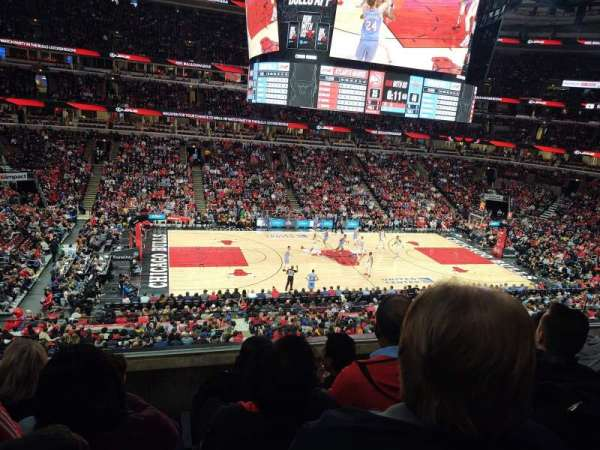 United Center, section: 219, row: 4, seat: 5