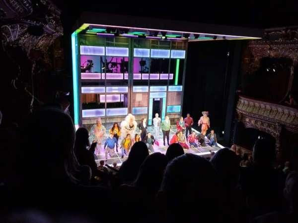 Apollo Theatre, section: Dress circle, row: D, seat: 25