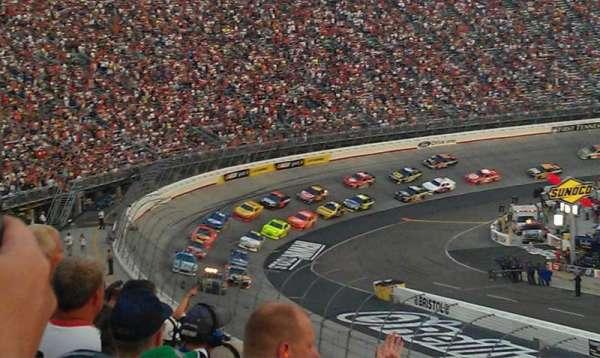 Bristol Motor Speedway, section: Allison F, row: 27, seat: 15