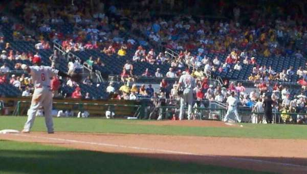 PNC Park, section: 5, row: B, seat: 6