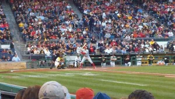 PNC Park, section: 8, row: B, seat: 3