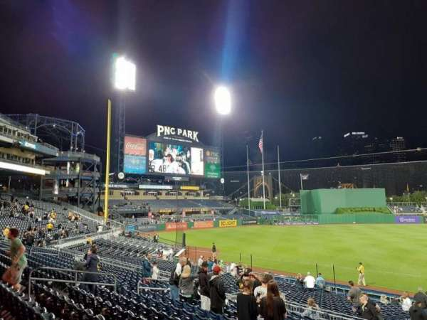 PNC Park, section: 125, row: N, seat: 3