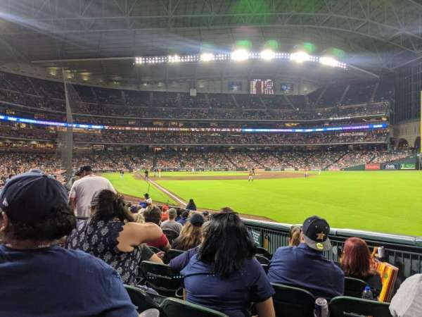 Minute Maid Park, section: 134, row: 15, seat: 7