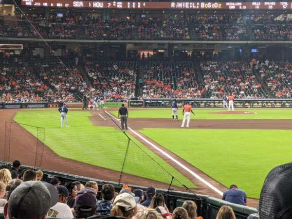 Minute Maid Park, section: 134, row: 15, seat: 6