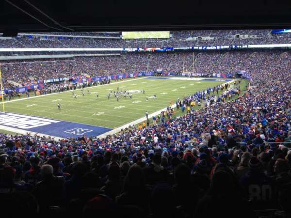 MetLife Stadium, section: 121, row: 48, seat: 7 and 8