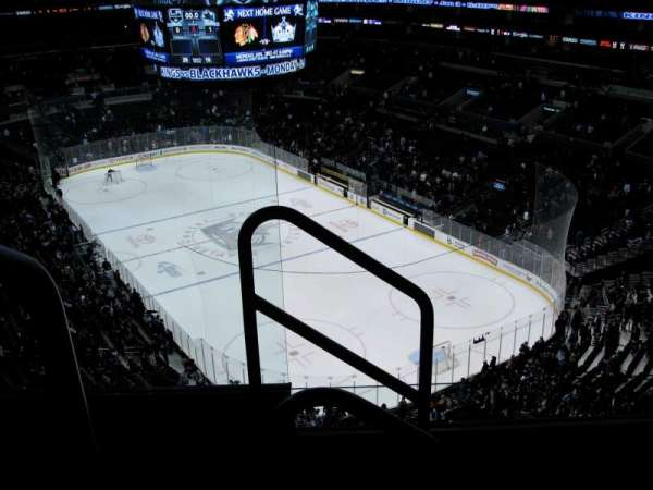 Staples Center, section: 312, row: 4, seat: 11