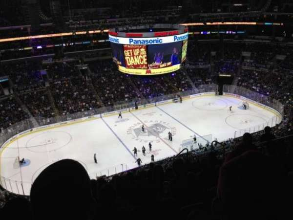 Staples Center, section: 303, row: 12, seat: 12