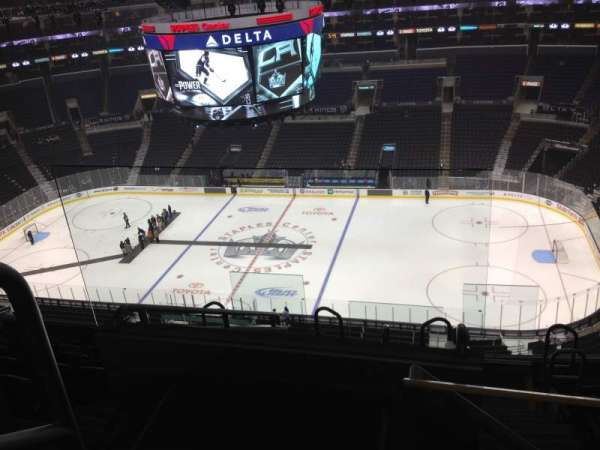 Staples Center, section: 316, row: 8, seat: 21