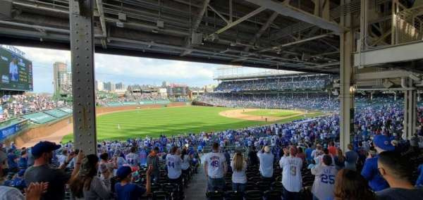 Wrigley Field, section: 205, row: 20, seat: 1