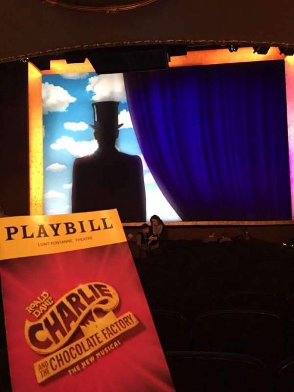 Lunt-Fontanne Theatre, section: Orchestra C, row: R, seat: 109