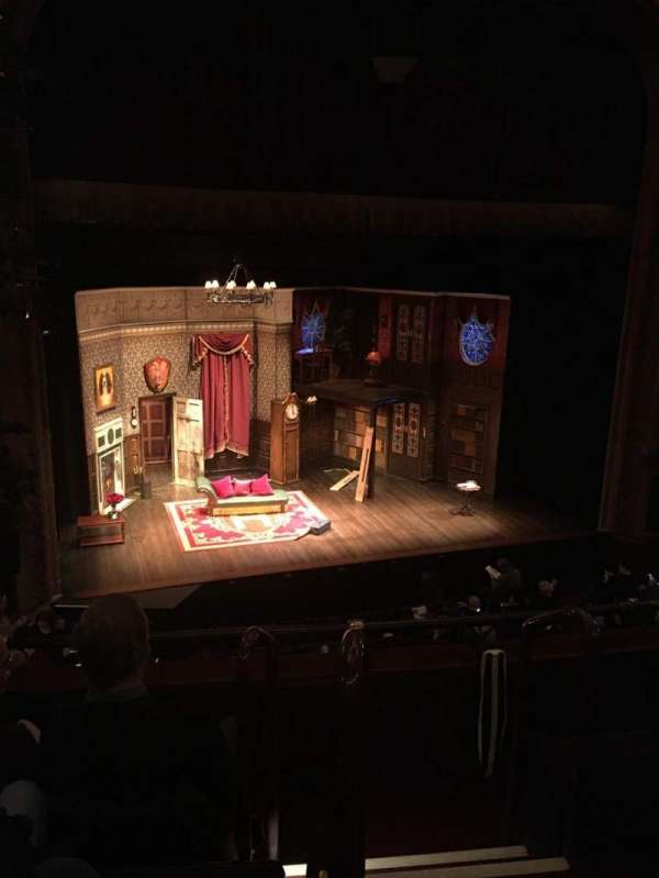 Lyceum Theatre (Broadway), section: Mezzanine l, row: D, seat: 1