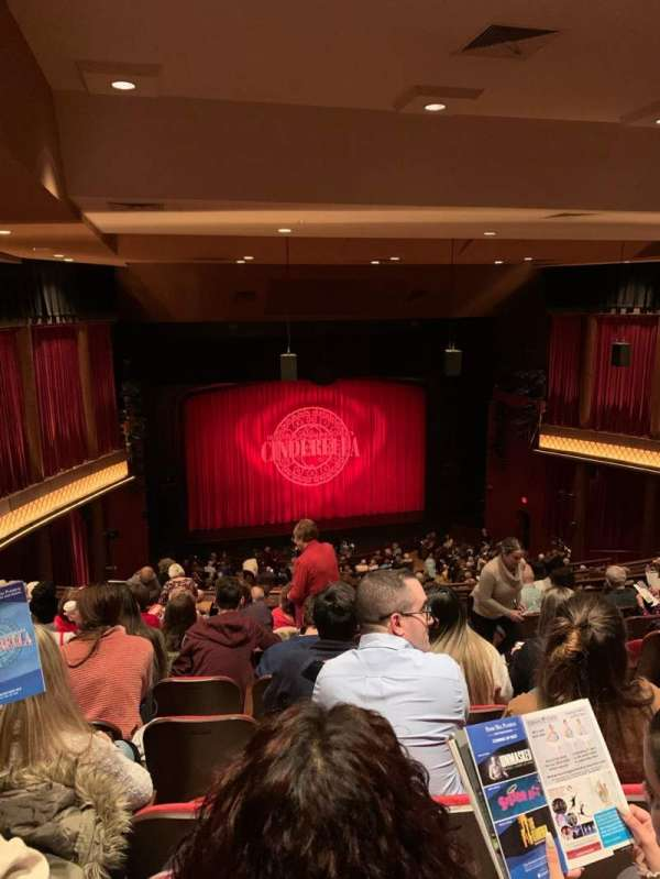 Paper Mill Playhouse, section: Mezzanine L, row: JJ, seat: 5
