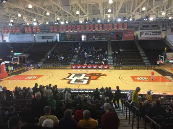 Stroh Center, section: 103, row: T, seat: 16