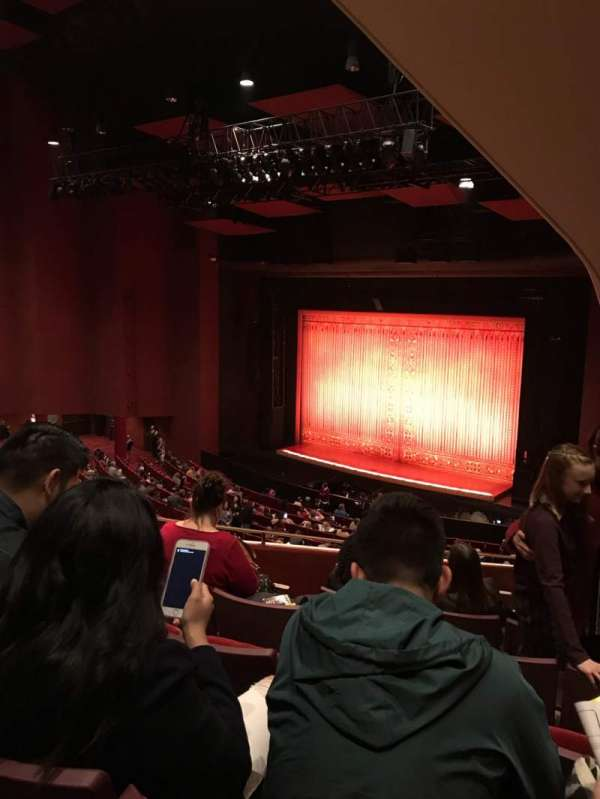 San Diego Civic Theatre, section: Balcony, row: O, seat: 56