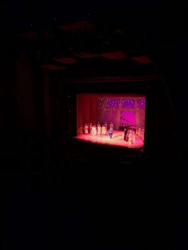San Diego Civic Theatre, section: Balcony R, row: O, seat: 56