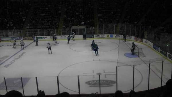 Cool Insuring Arena, section: O, row: 13, seat: 3