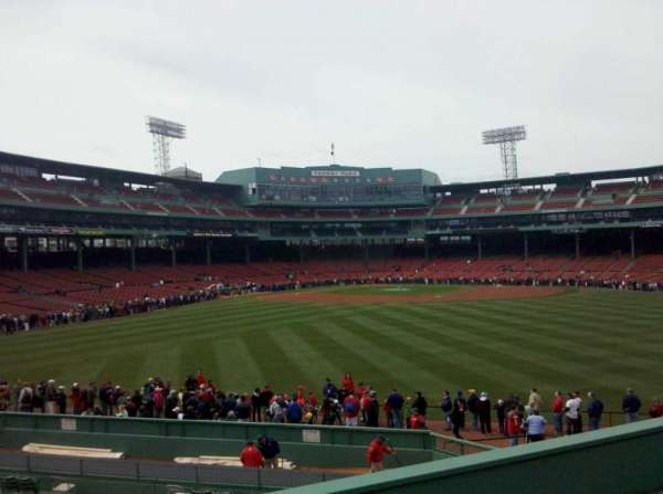 Fenway Park, section: Bleacher 37, row: 8, seat: 19