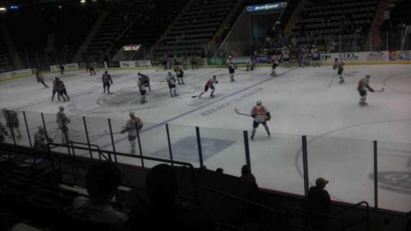 Cool Insuring Arena, section: D, row: 9, seat: 12