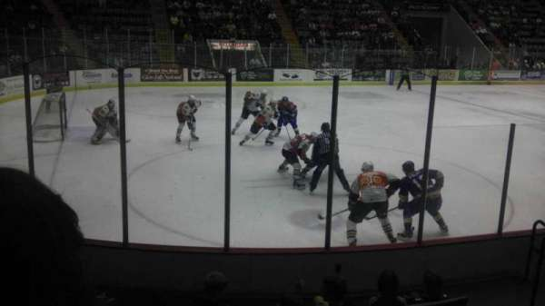 Cool Insuring Arena, section: V, row: 6, seat: 7