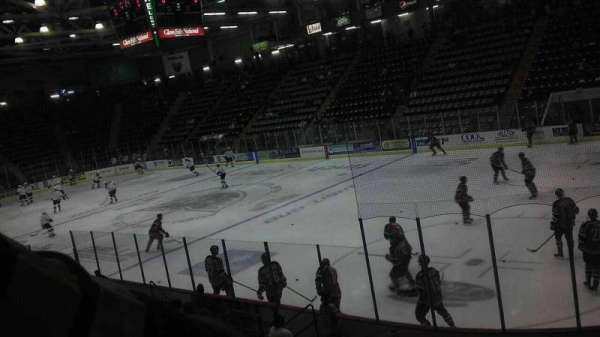 Cool Insuring Arena, section: P, row: 10, seat: 1