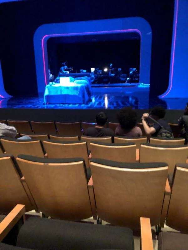 The Irene Diamond Stage at The Pershing Square Signature Center, section: Orchestra, row: F, seat: 115