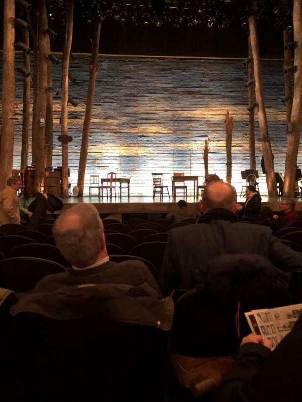 Gerald Schoenfeld Theatre, section: Orchestra C, row: H, seat: 104