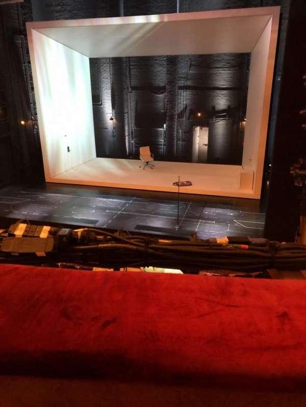 John Golden Theatre, section: Mezzanine, row: A, seat: 116