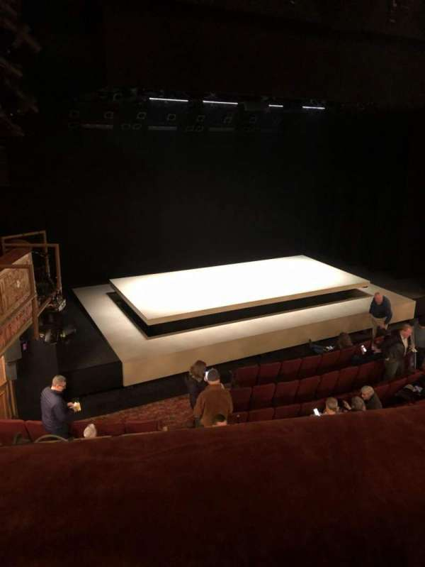 Ethel Barrymore Theatre, section: Front Mezzanine L, row: A, seat: 11