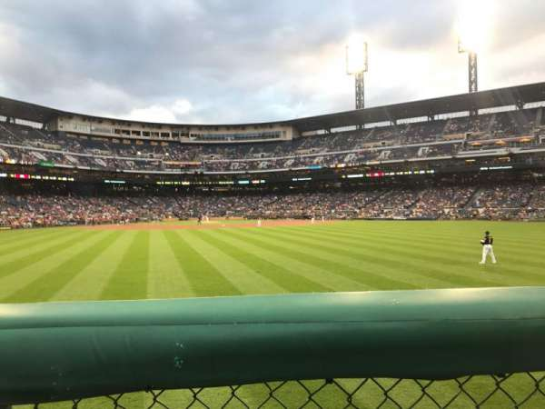 PNC Park, section: 139, row: 1, seat: 2