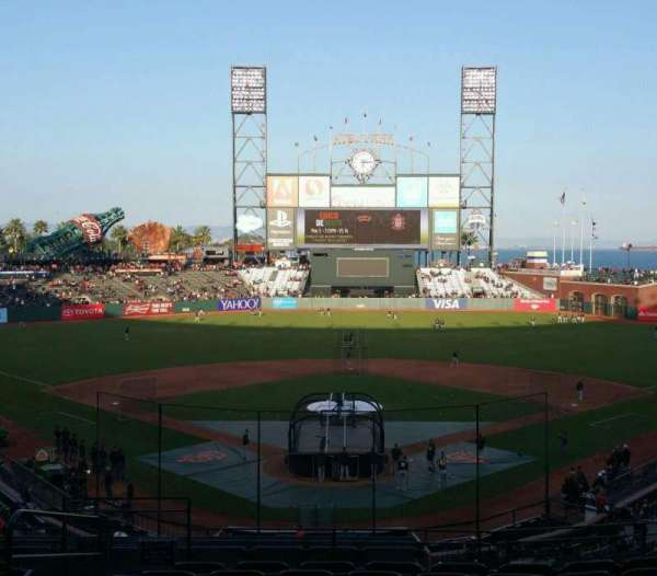 AT&T Park, section: 215, row: I, seat: 11