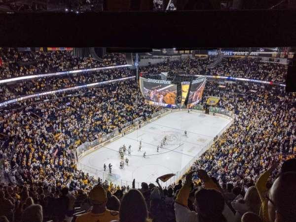 Bridgestone Arena, section: 304, row: S, seat: 20