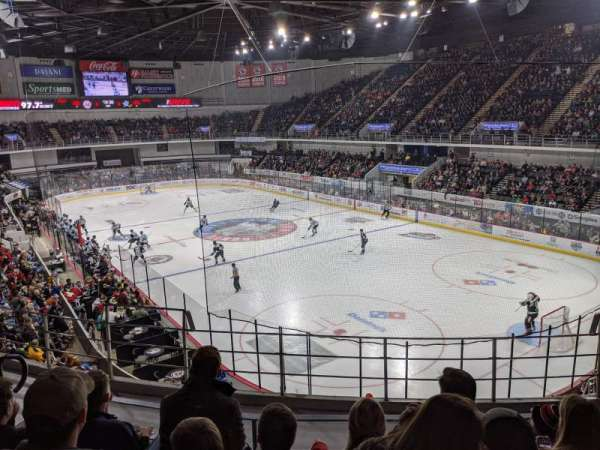 Propst Arena, section: 318, row: E, seat: 8