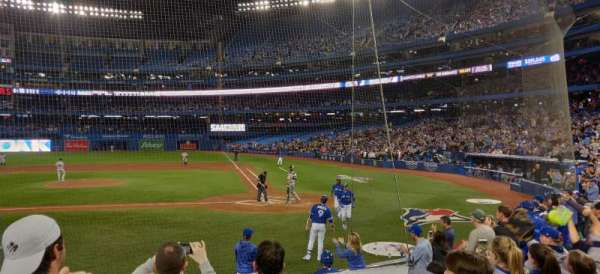 Rogers Centre, section: 125L, row: 12, seat: 8
