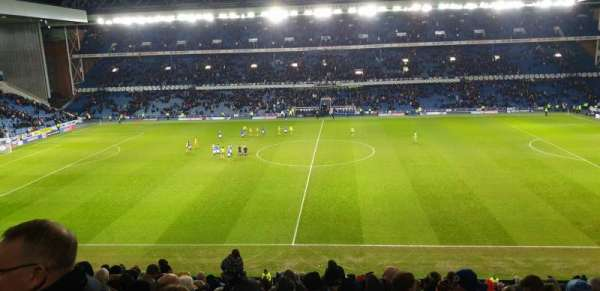 Ibrox Stadium, section: GR4, row: O, seat: 105