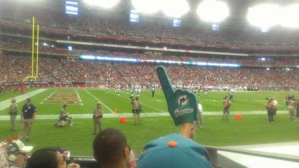 State Farm Stadium, section: 113, row: 4, seat: 16
