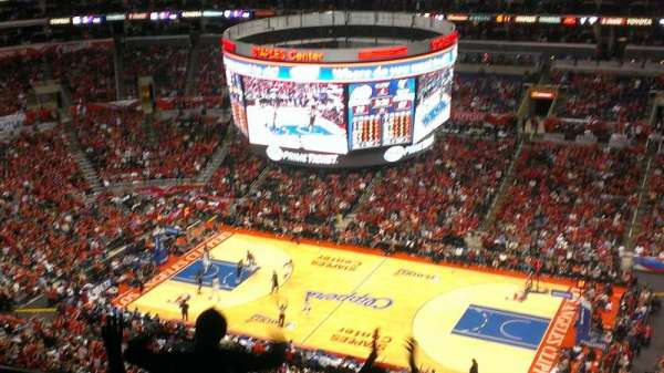 Staples Center, section: 333, row: 12, seat: 16
