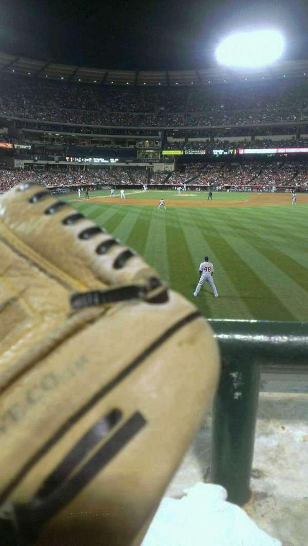 Angel Stadium, section: 237, row: A, seat: 16