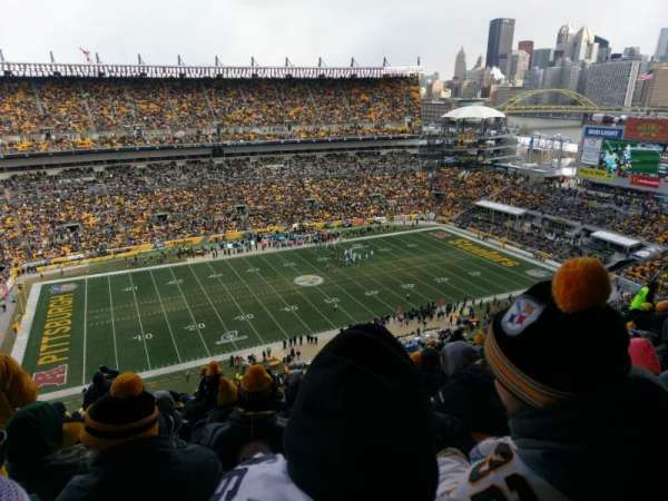 Heinz Field, section: 532, row: Z, seat: 25