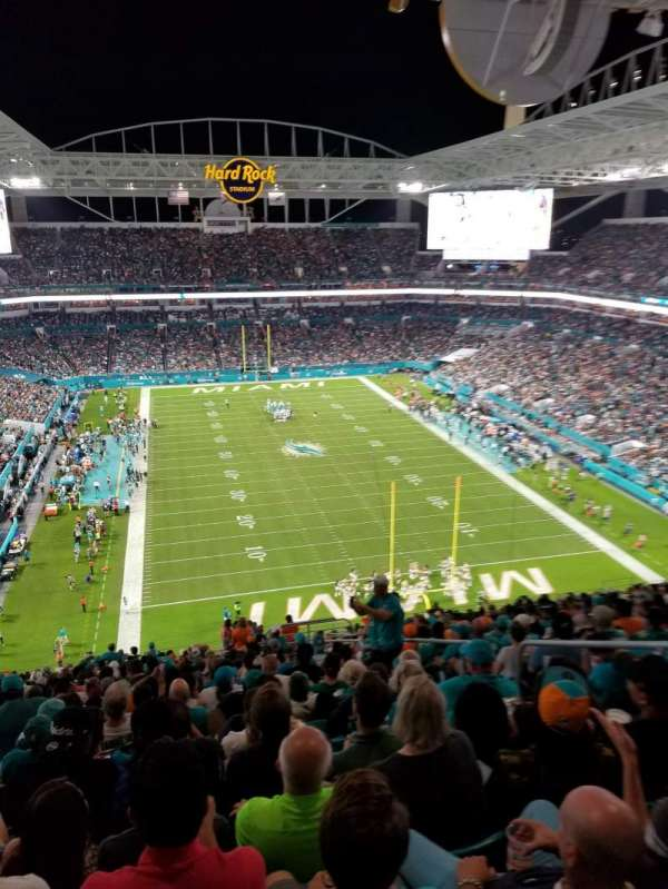 Hard Rock Stadium, section: 333